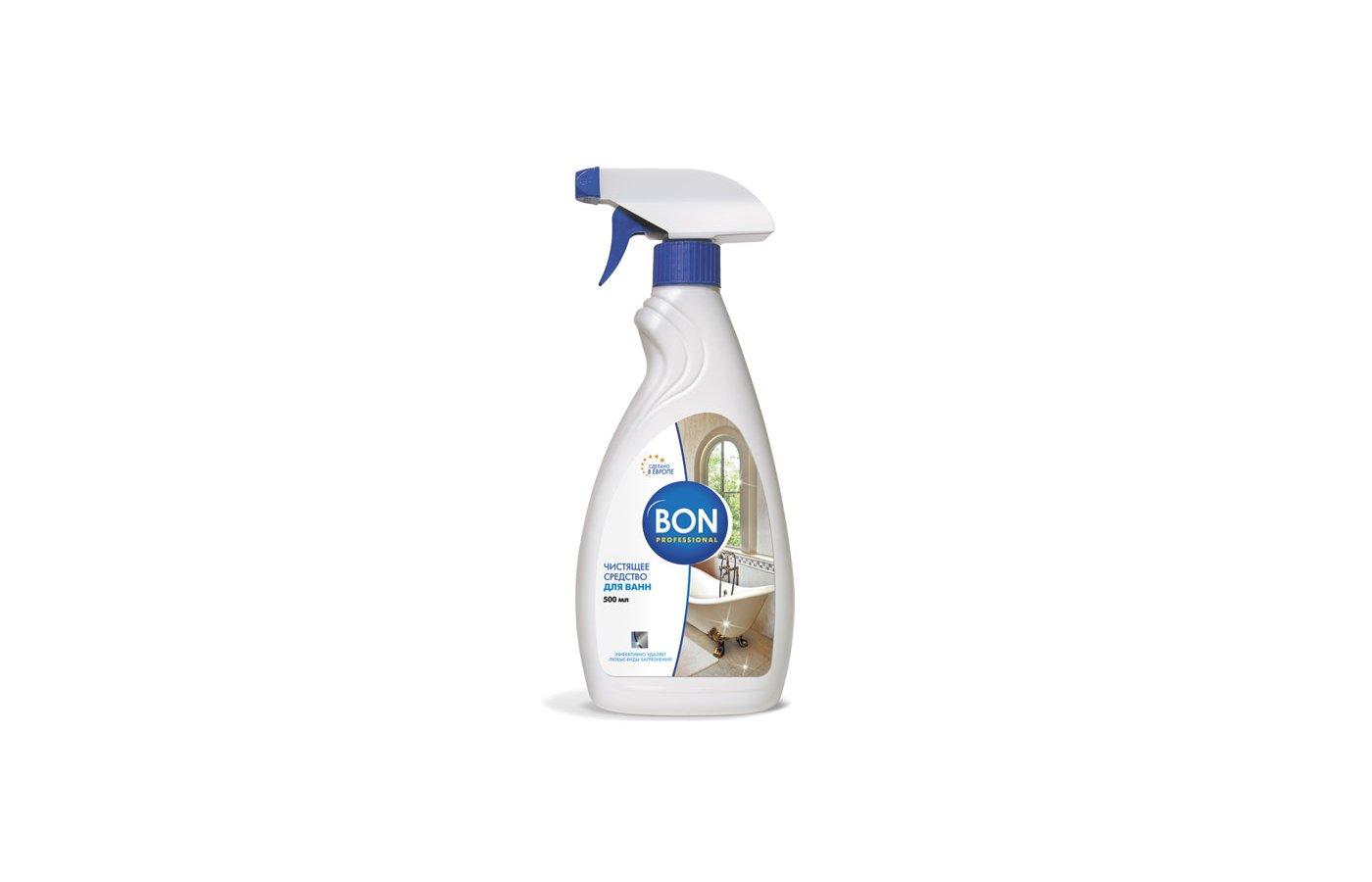 Инвентарь для уборки BON BN-170 Средство для ванн 500мл