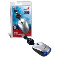 Фото Мышь проводная Genius NX-Micro оптическая USB silver