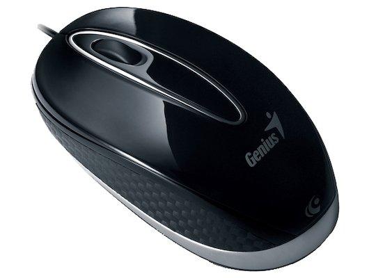 Мышь проводная Genius NX-Mini оптическая USB black