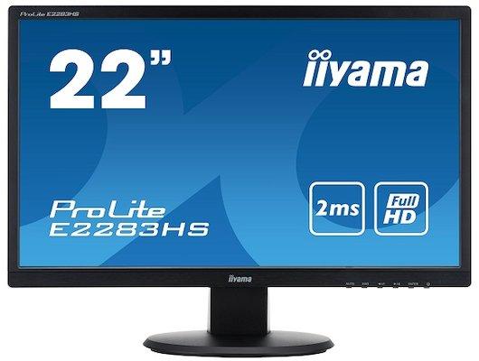 "ЖК-монитор 22"" Iiyama E2283HS-B1"
