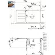 Фото Кухонная мойка FRANKE Strata 614-78 серый
