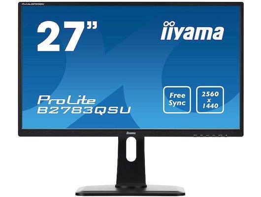 "ЖК-монитор более 24"" Iiyama B2783QSU-B1"