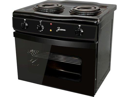 Плита электрическая ЗЛАТА 231 Т черный
