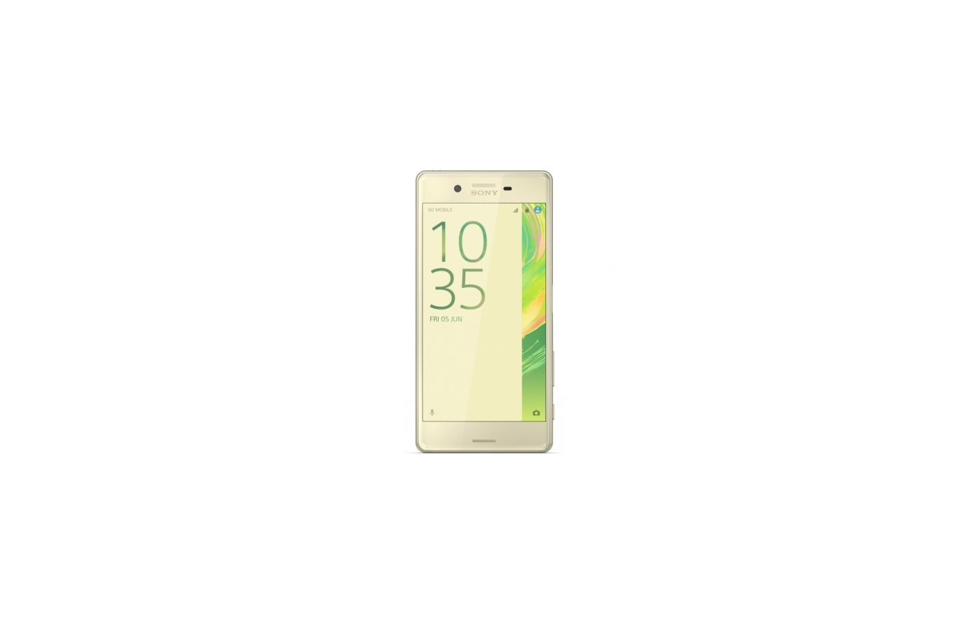 Смартфон SONY Xperia X F5121 lime gold