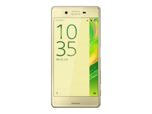 Смартфон SONY Xperia X Dual Sim F5122 lime gold