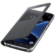 Фото Чехол Samsung S-View для Galaxy S7 (SM-G930) (EF-CG930PBEGRU) черный