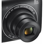Фото Фотоаппарат компактный Nikon Coolpix A300 black