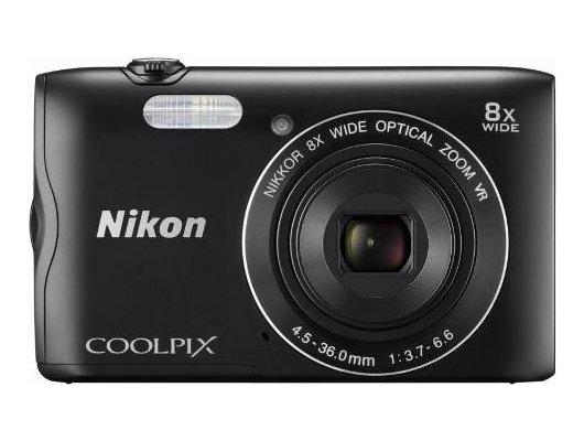 Фотоаппарат компактный Nikon Coolpix A300 black