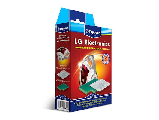 Фильтр для пылесоса TOPPERR 1126 FLG 89 Комплект фильтр для пылесосов LG серия Kompressor