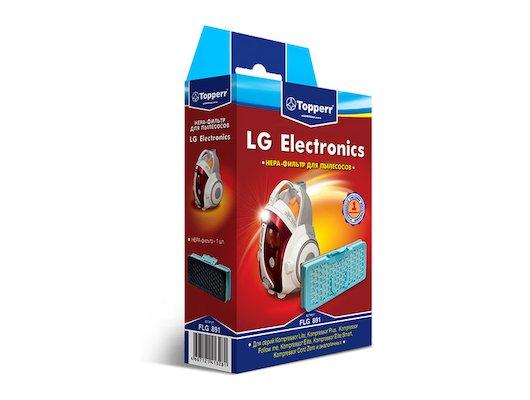 Фильтр для пылесоса TOPPERR 1127 FLG 891 Комплект фильтр для пылесосов LG серия Kompressor (VEF-SQ4NS)
