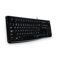 Клавиатура проводная Logitech Keyboard K120 проводная USB чёрная (920-002522) ОЕМ