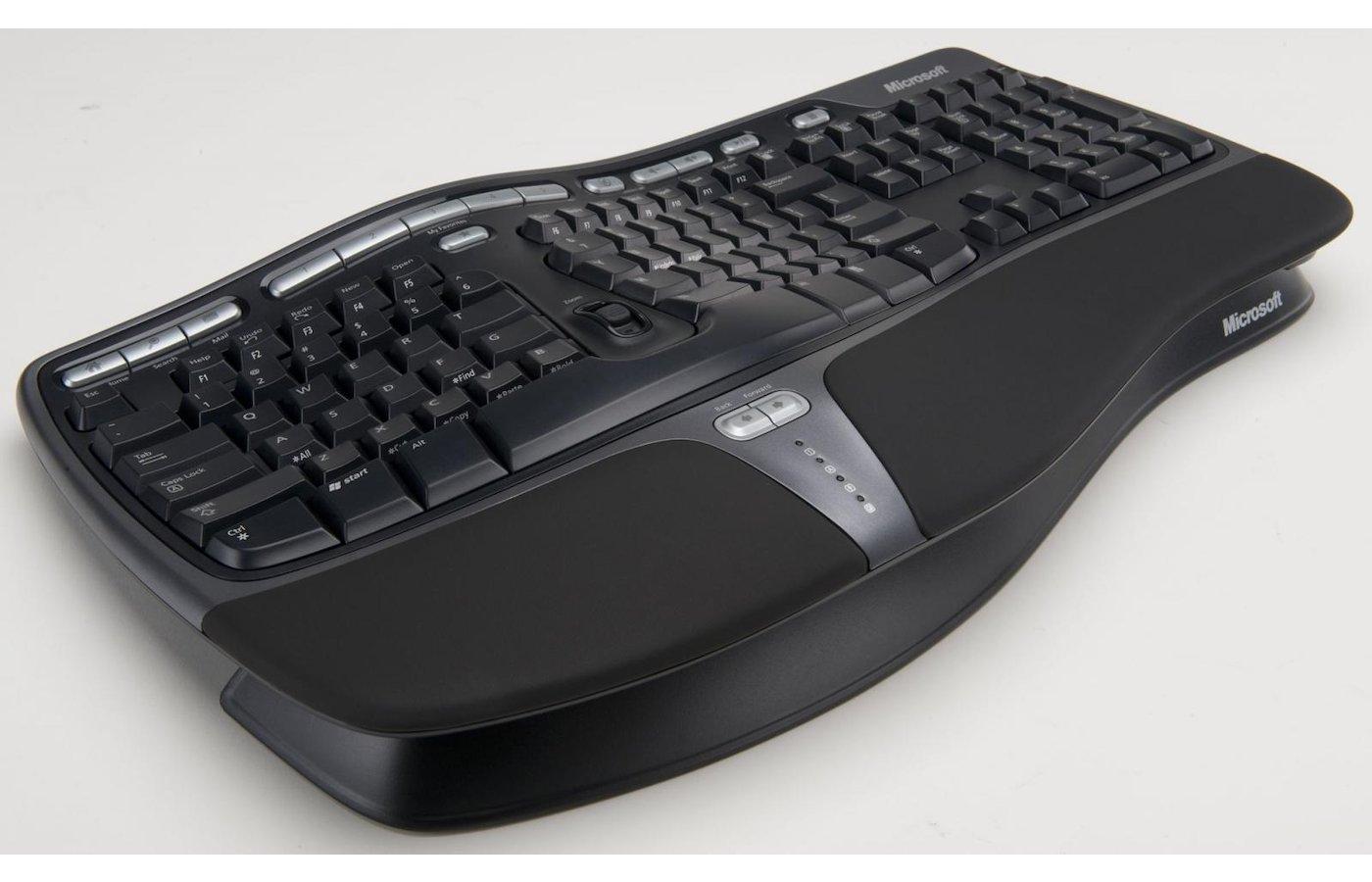 Клавиатура проводная Microsoft Retail Natural Ergonomic Keyboard 4000 USB (B2M-00020)