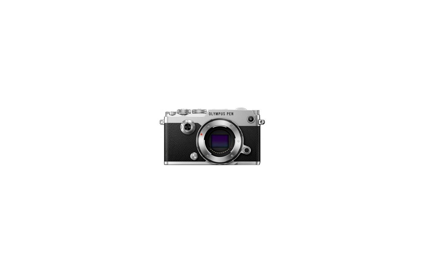 Фотоаппарат со сменной оптикой OLYMPUS PEN-F Body silver incl. Charger + Battery