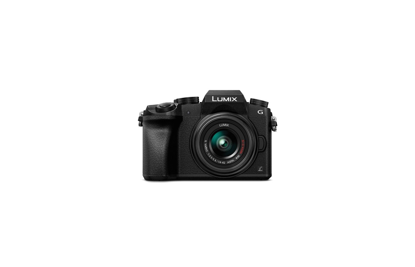 Фотоаппарат со сменной оптикой PANASONIC Lumix DMC-G7KEE-K Kit 14-42mm / F3.5-5.6 II ASPH. / MEGA O.I.S. lens