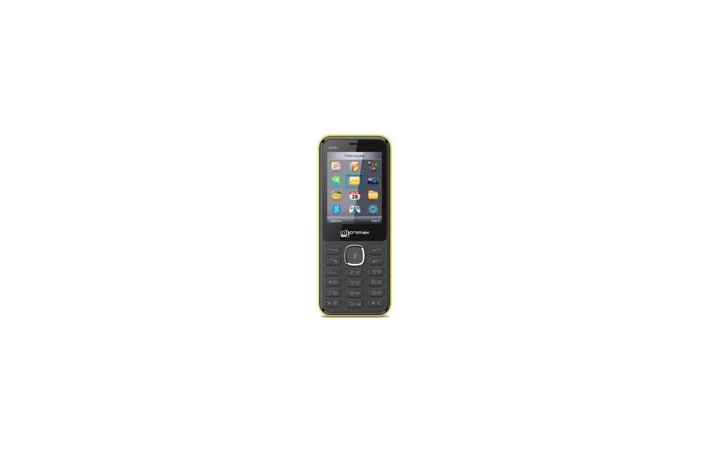 Мобильный телефон Micromax X249 yellow