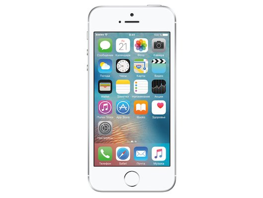 Смартфон Apple iPhone SE 16Gb Silver MLLP2RU/A