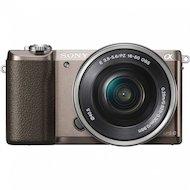 Фотоаппарат со сменной оптикой SONY Alpha ILCE-5100LT kit 16-50мм PZ коричневый