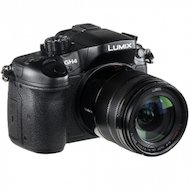 Фотоаппарат со сменной оптикой PANASONIC Lumix DMC-GH4HEE-K Kit 14-140mm / F3.5-5.6 (H-FS14140) черный