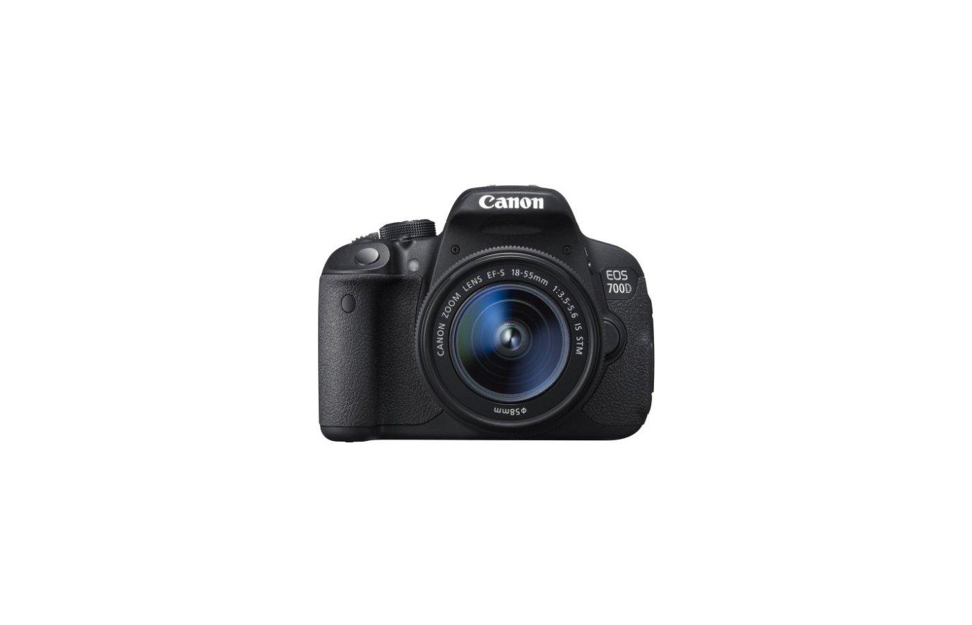 Фотоаппарат зеркальный CANON EOS 700D EF-S 18-55mm DC III
