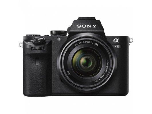 Фотоаппарат со сменной оптикой SONY Alpha ILCE-7M2KB kit FE 28-70/3.5-5.6 OSS черный