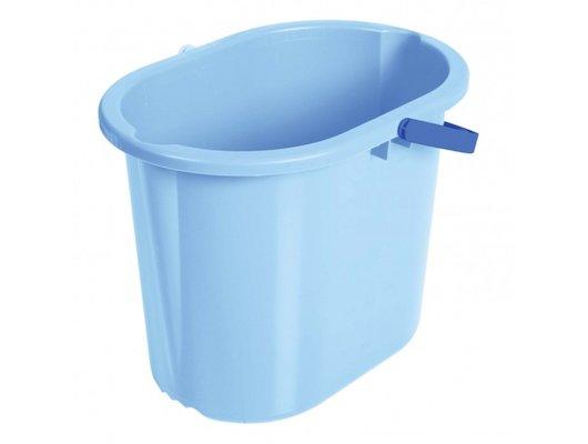 Инвентарь для уборки HM Убор Ведро д/мытья полов 10л голубое HM-1081