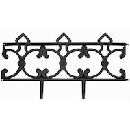 садовые товары 172-023 Заборчик декоративный Парковый (5 секций) 58x6x31см