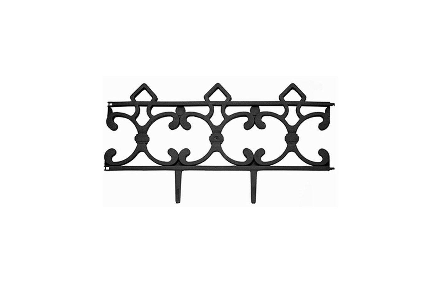 Инвентарь 172-023 Заборчик декоративный Парковый (5 секций) 58x6x31см