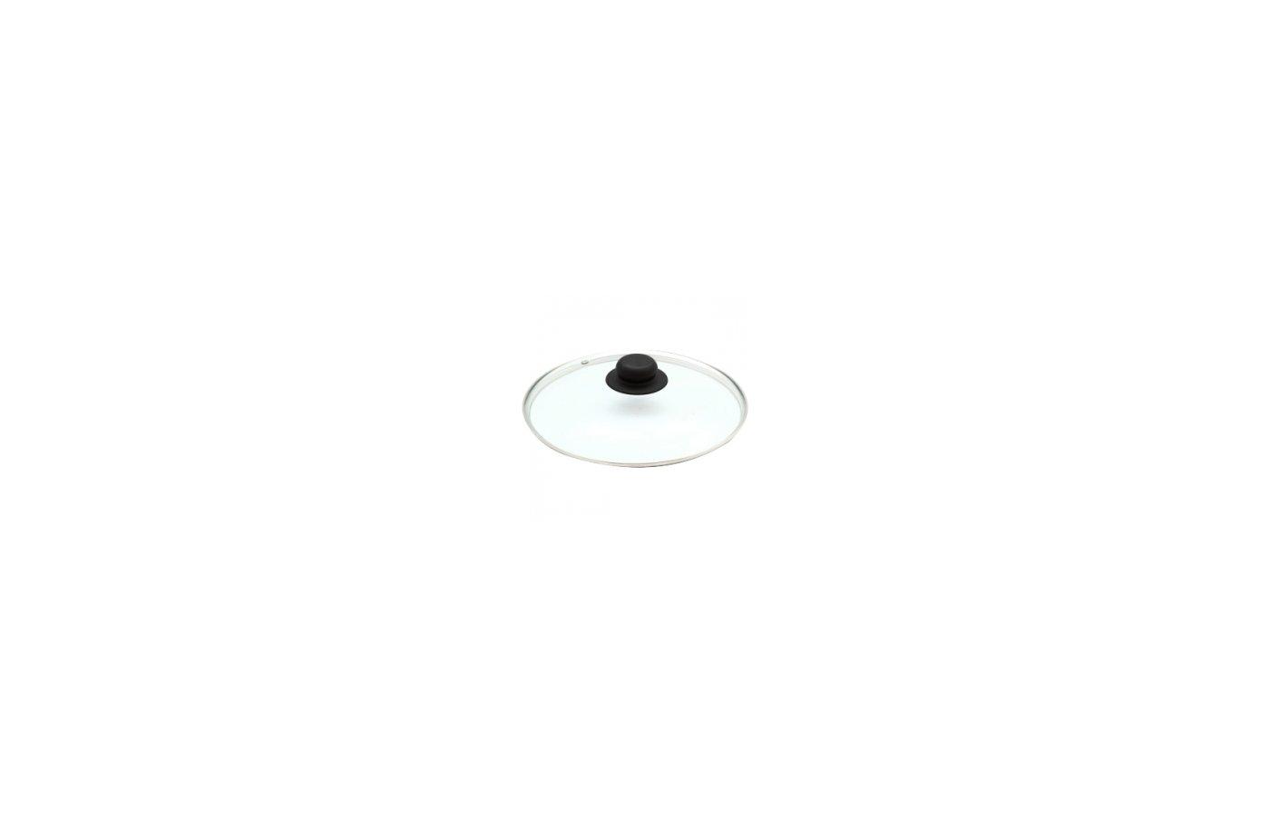 посуда Крышка стекл.24 см КС-004