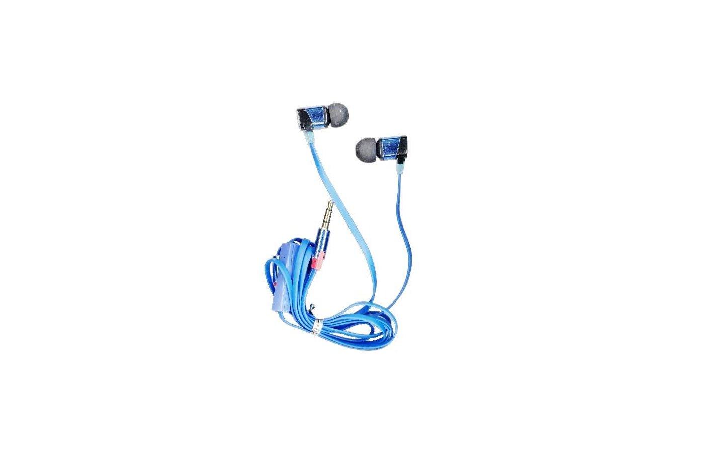 Наушники вкладыши Fischer Audio Sempai SPE-05A синий