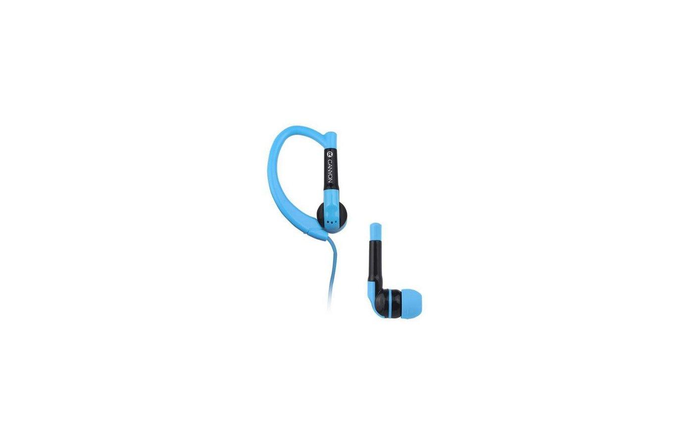 Наушники спортивные CANYON CNS-SEP1BL blue