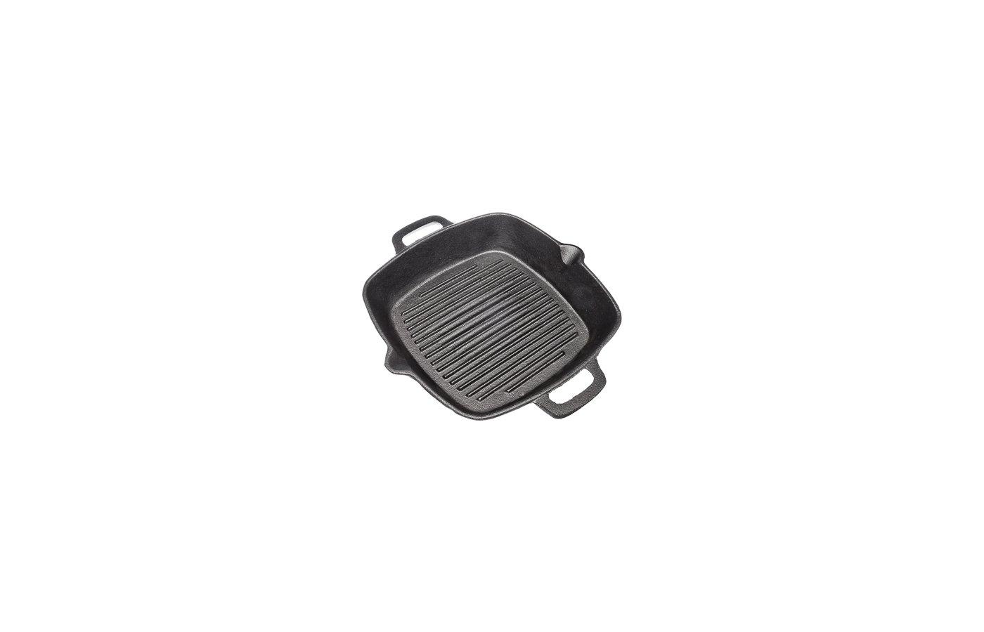 Сковорода - гриль VETTA 808-004 Сковорода-гриль чугун 26х26х45 см