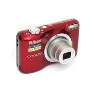 Фото Фотоаппарат компактный Nikon Coolpix A10 red