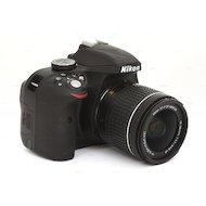 Фото Фотоаппарат зеркальный Nikon D3300 18-55VR AF-P black