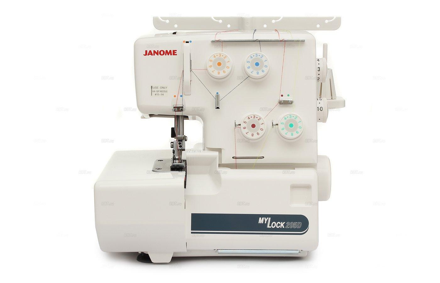 Оверлок JANOME ML 205D
