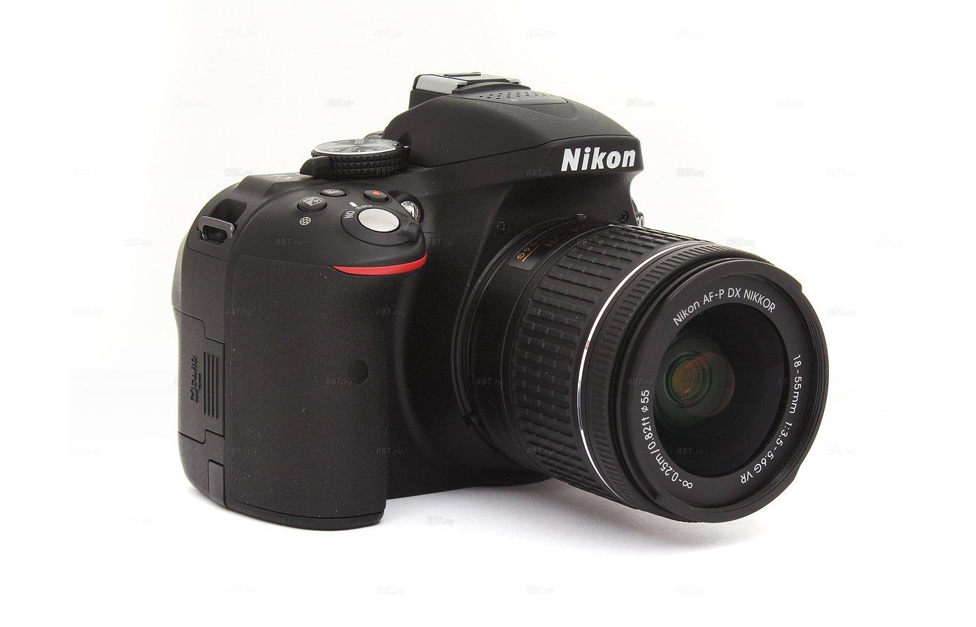 Фотоаппарат зеркальный Nikon D5300 18-55VR AF-P black