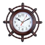 Фото Часы настенные 581-111 Часы настенные Штурвал