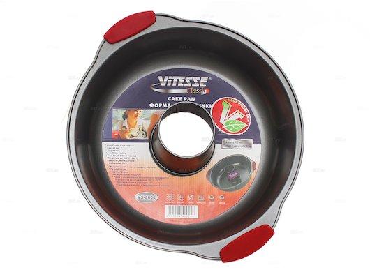 Форма для выпечки металлическая VITESSE VS-8604 Форма д/в 28 см Xylan