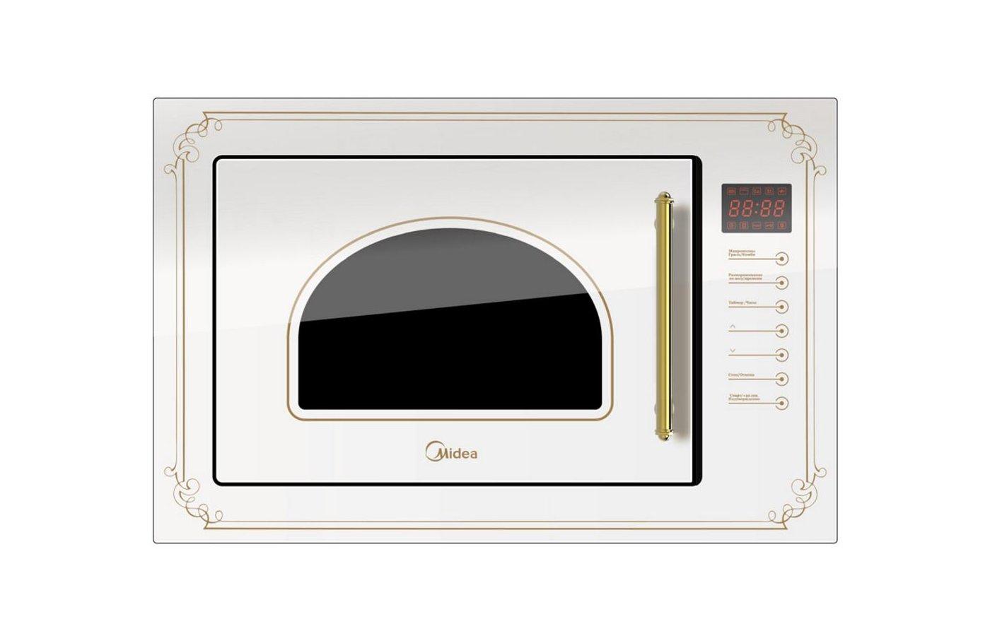 Встраиваемая микроволновая печь MIDEA TG925BW7-W2