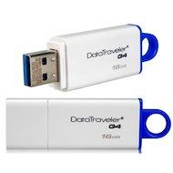 Фото Флеш-диск Kingston 16Gb DataTraveler DTIG4/16GB USB2.0 белый/синий