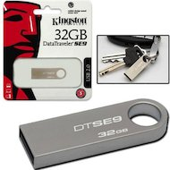 Фото Флеш-диск Kingston 32Gb DataTraveler DTSE9H/32GB USB2.0 серебристый
