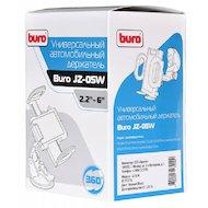 Фото Держатель для телефона BURO 2.2-6.0 дюйма для смартфонов (JZ-05W) черный