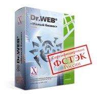 """Компьютерное ПО Dr.Web """"Малый бизнес"""" BOX для 5 ПК/1 сервер/5 пользователей почты на 1 год (BBZ-C-12M-5-A3)"""