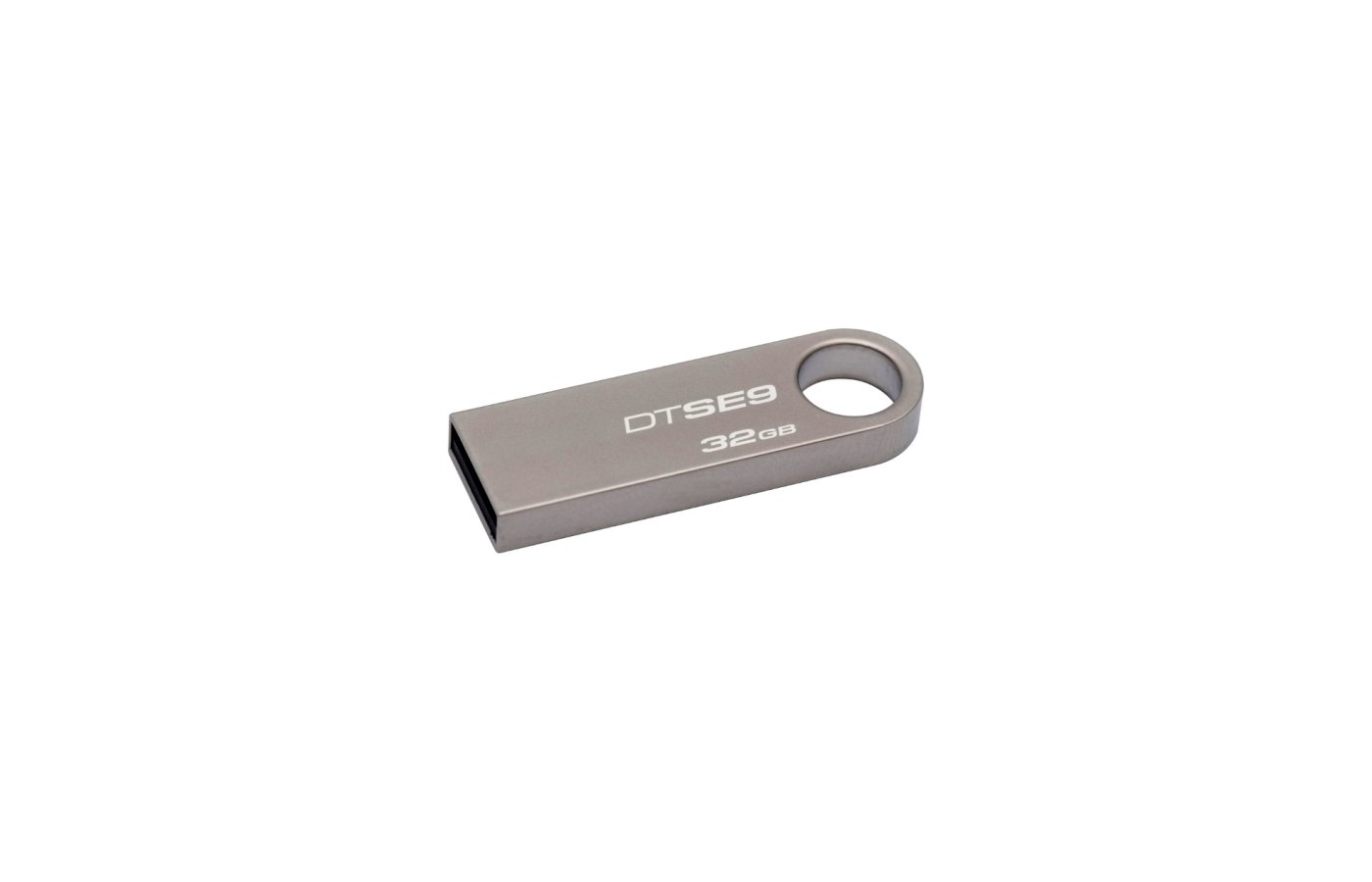 Флеш-диск Kingston 32Gb DataTraveler DTSE9H/32GB USB2.0 серебристый