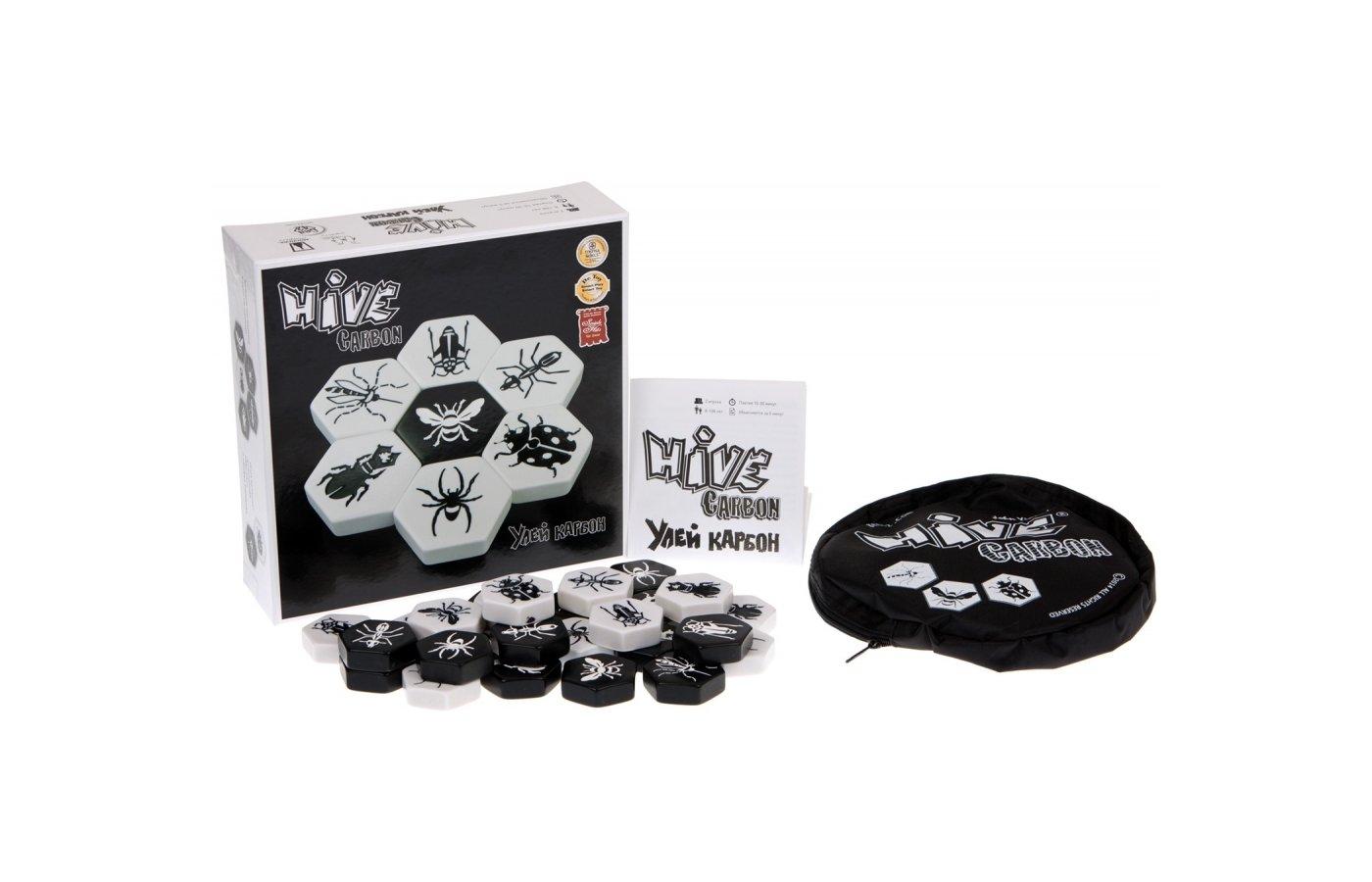 Настольная игра Gen 42 Games Улей Карбон (Hive Carbon)