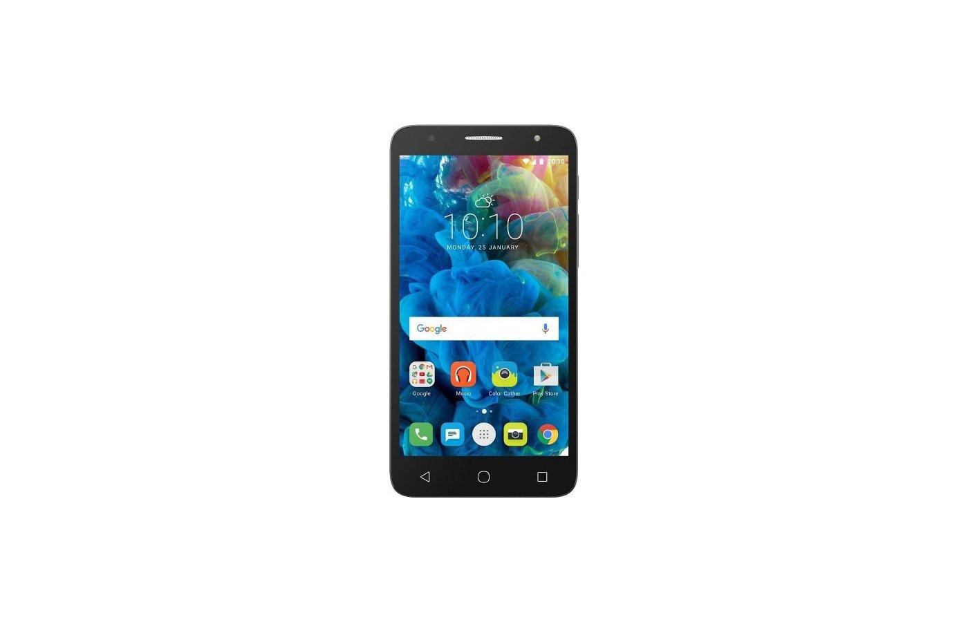 Смартфон Alcatel OT-5056D POP 4+ silver