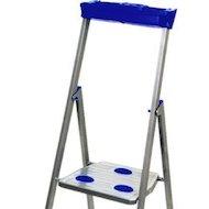 Фото Лестница Лестница-стремянка НИКА СМ5 1645 см 150 кг 5 ступеней, метал