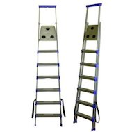 Фото Лестница Лестница-стремянка НИКА СМ8 2300 см 100 кг 8 ступеней, метал