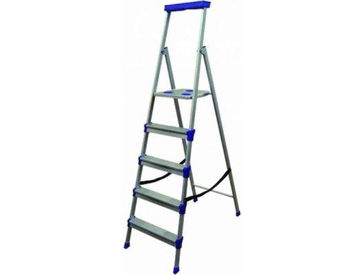 Лестница Лестница-стремянка НИКА СМ5 1645 см 150 кг 5 ступеней, метал