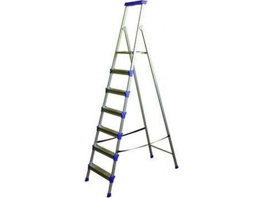 Лестница Лестница-стремянка НИКА СМ7 2085 см 100 кг 7 ступеней, метал