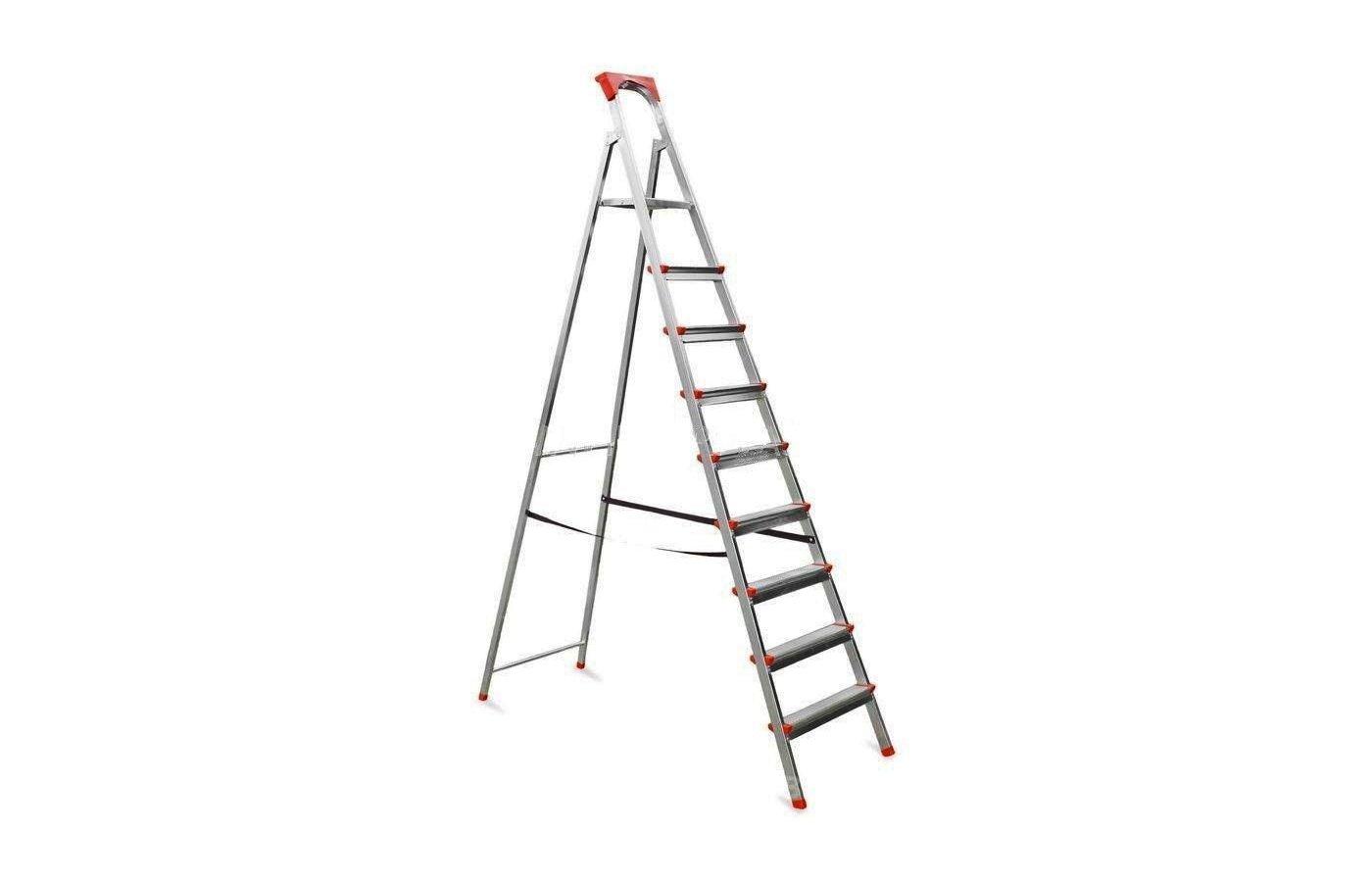 Лестница Лестница-стремянка Dogrular Ufuk 9 ступ.  195х375 см 150 кг